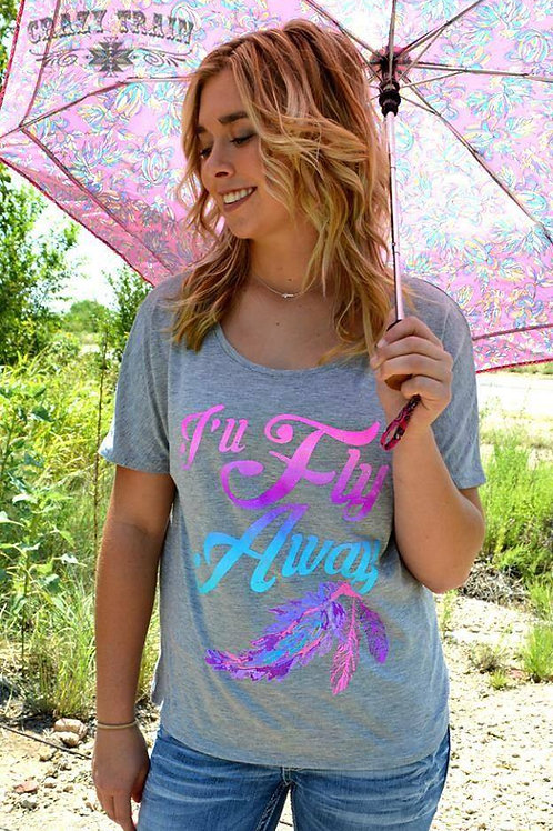 Xl I'll Fly Away Slouch Tee