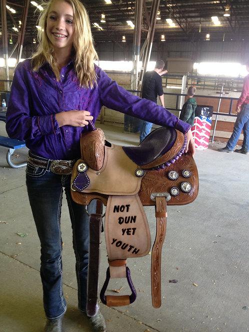 Not Dun Yet Saddle tooling
