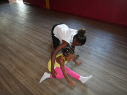 Abuanas & Dance Tutor Ms. Francois.