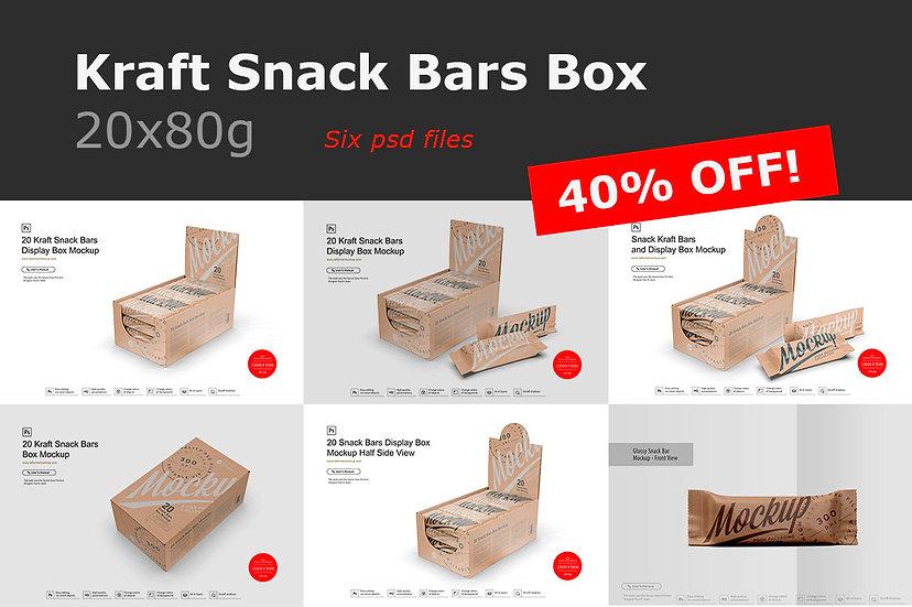 Kraft Snack Bars Box 20x80g Mockup.zip