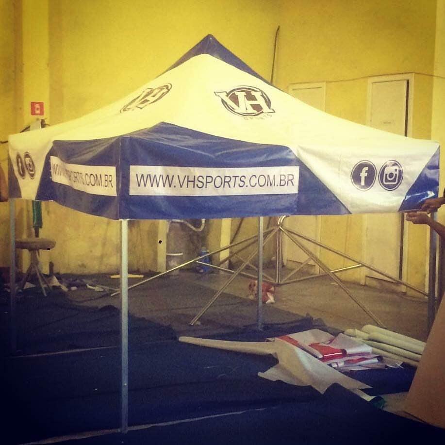 Tenda sanfonada 2x2m