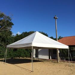 Tenda pirâmide 6x6m