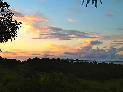 Palmlea Farms, Vanua Levu, Kia Island sunset