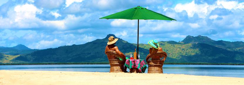 Private sand island, Palmlea Farms, Vanua Levu, Fiji