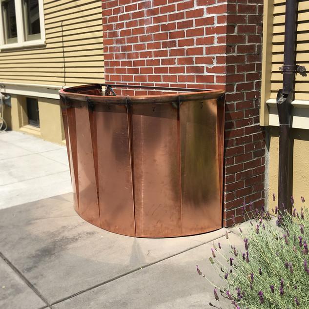 Copper Planter Box