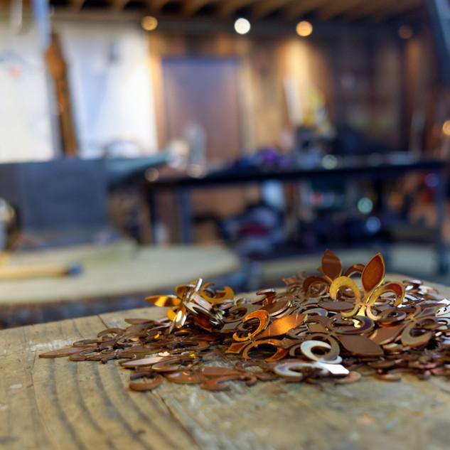 Copper Fleur de Lys
