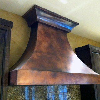 Copper Range Hood Cover
