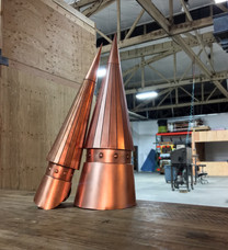 Finials for Copper Turret Roofs