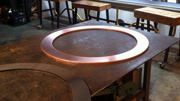Forming a Copper Window Cover
