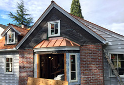 Copper Entry Roof