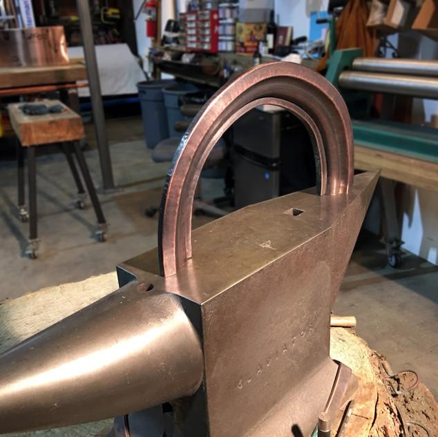Radius Copper Moulding