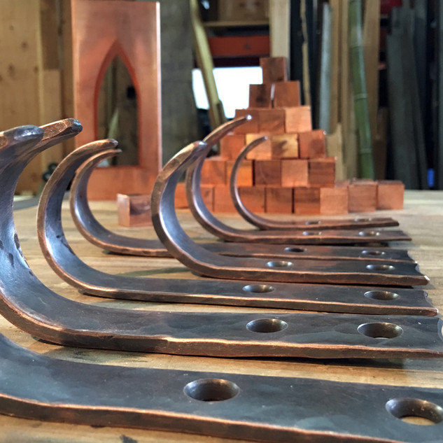 Some Copper Hooks and Such