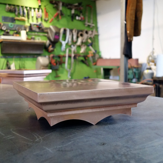 Newly Fabricated Copper Pillar Cap