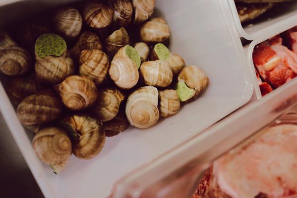 Les escagots du Bouillon Languedoc