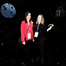 Ashley Cansler & Newsha Poursohi