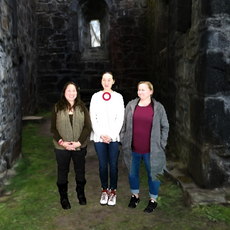 Steph Johnson, Emily Wang & Ellen Huang