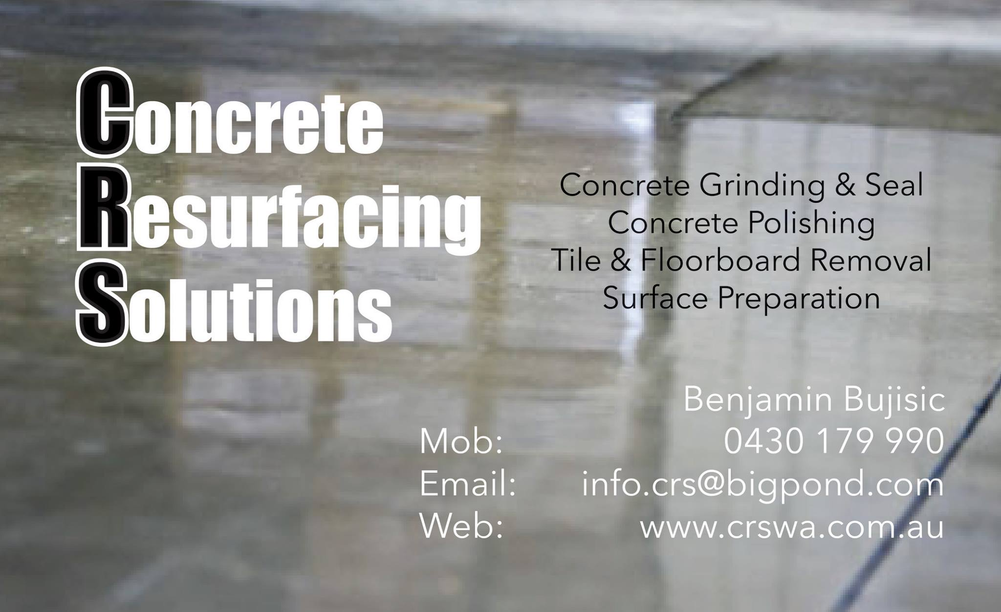 CRS Business Card