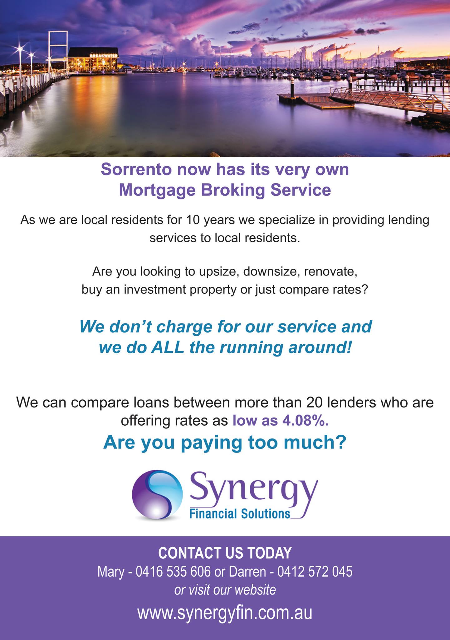Synergy Financial Solutions Flyer