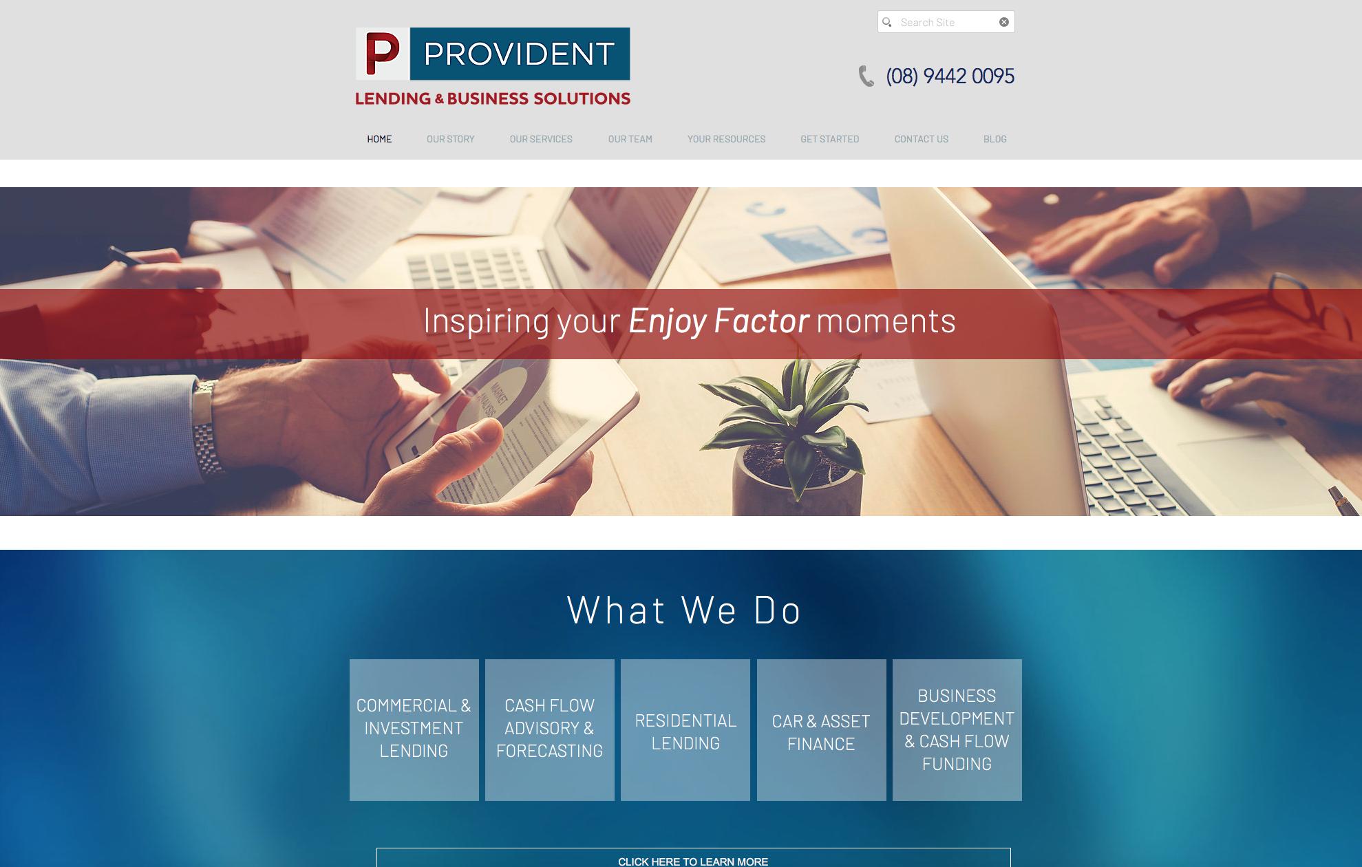 Provident - Website