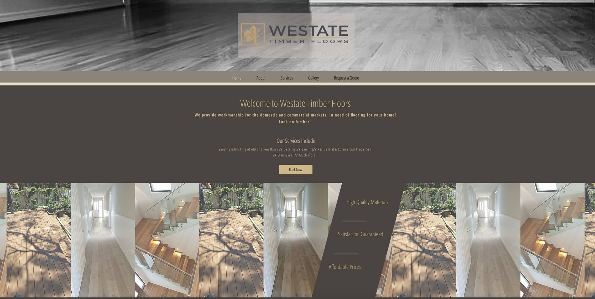 Westate Timber Website
