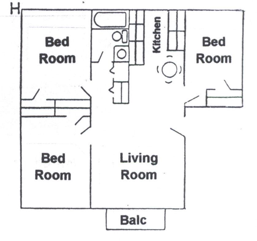 Floorplan H