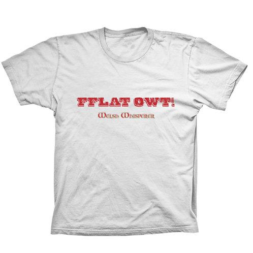 Crys 'FFLAT OWT!' tee