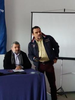 Ο εκπροσωπος της ΓΓΑ Αλέξης Αδαμιδης