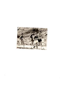 1973..Παν.Πρωταθλ, ανωμ. δρομου..Μπροστα απο Ψαθα (ΠΑΟΚ)
