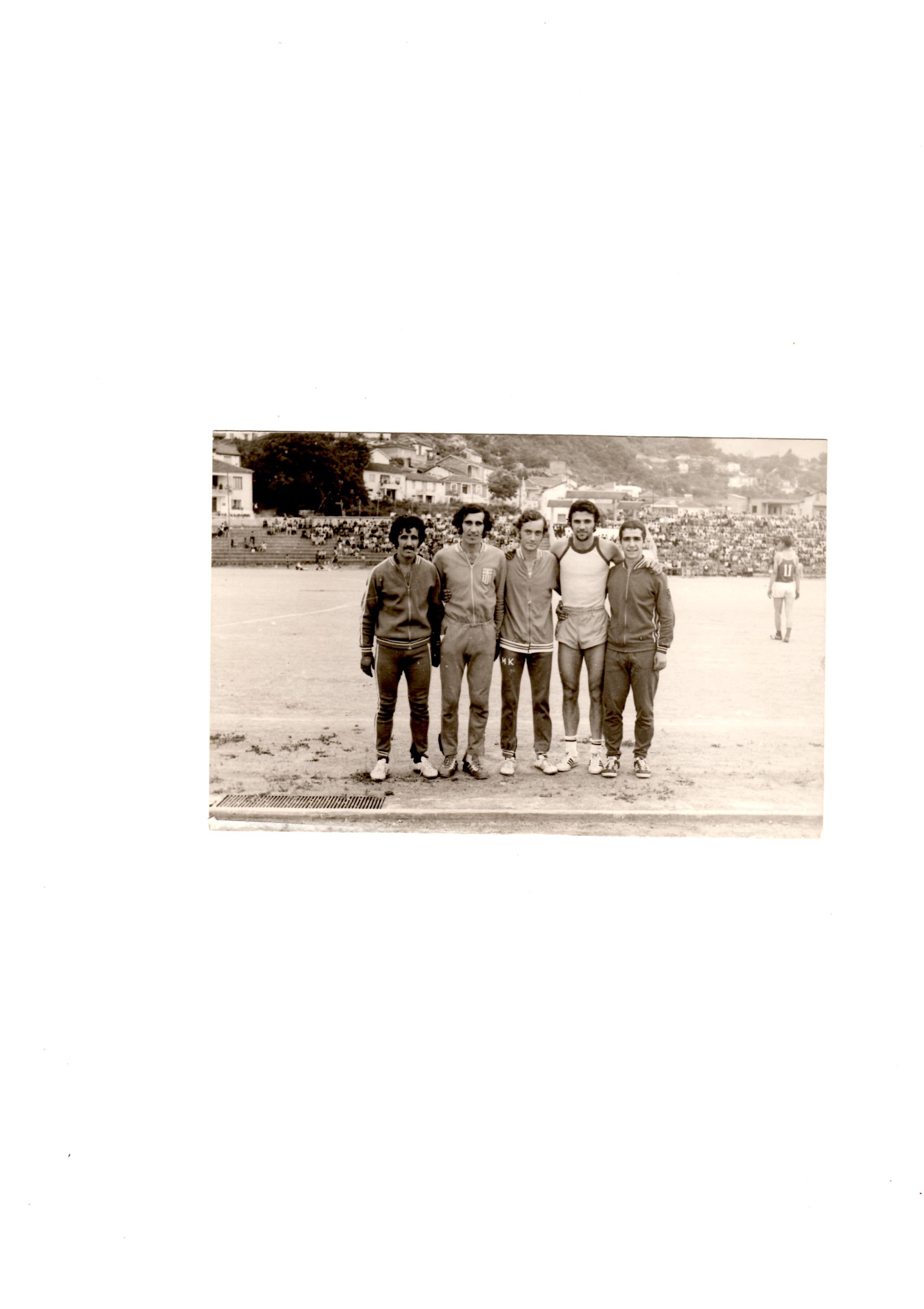 1972..Με Παγκαλο, Χαμουριωτακη, Κυριακιδη και τον αειμνιστο Σ.Κονα (ΦΑΣ Ναουσα), σε αγωνα ανωμ δρομο