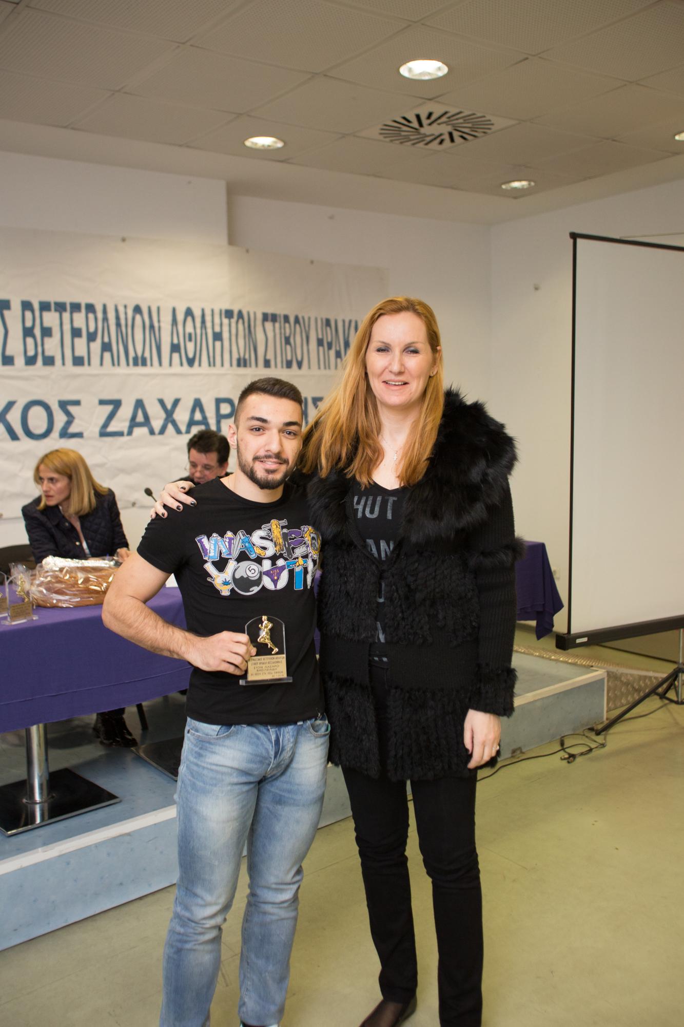 Βασιλειάδης Λάζ. βραβείο από Τασούλα Κελεσίδου