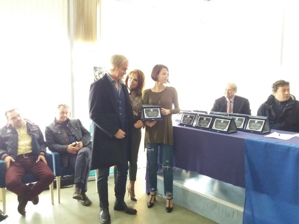 Δ.ΠΑΤΡΩΝΗΣ,ΒΟΥΛΑ ΠΑΤΟΥΛΙΔΟΥ και η προπονητρια των Ακαδημιων ΚΩΝΣΤΑΝΤΙΝΑ ΜΠΑΝΙΩΤΗ