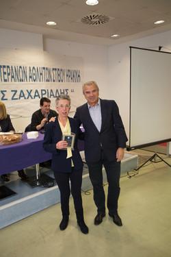Κυπαρίσση-Πανά Βασιλική βραβείο από Σωτ.Πάγκαλο