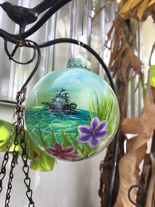 Hand Painted Ornaments (4)