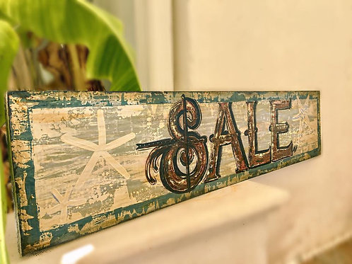 Antique Painted Sign