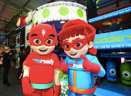 Bumble and Bloom Media client Rush UK Trampoline Park