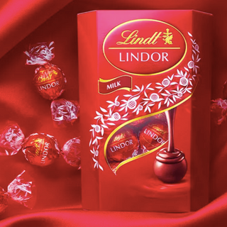 Lindt product shot Bumble and Bloom Media client