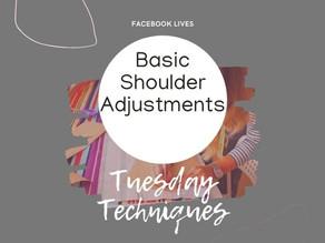1.7 Shoulder Adjustments
