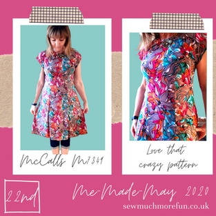 McCalls - M7349 Dress