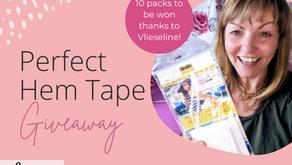 Vlieseline Perfect Hem Tape Giveaway