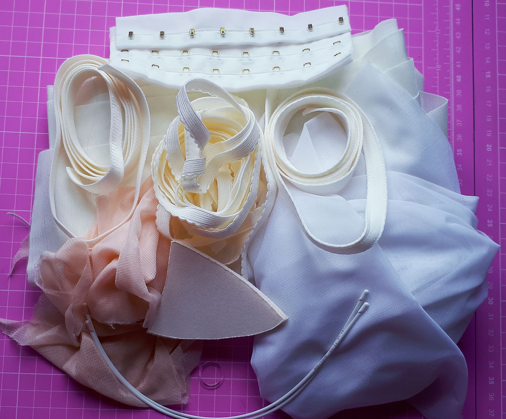 Fabulous lingerie supplies from Sew Wardrobe, Ashby