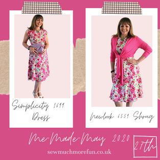 Simplicity - 1699 dress + Newlook 6559 Shrug