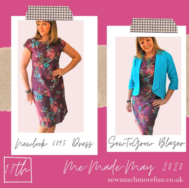 Newlook - 6095 Dress + SewToGrow Blazer