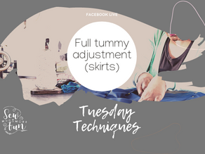 1.12 Full Tummy Adjustment (skirts)