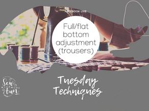1.15 Full & Flat Bottom Adjustments (Trousers)