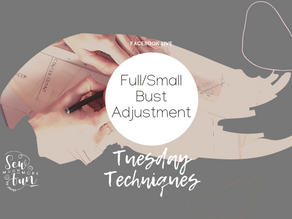 1.8 Small and Full Bust Adjustment