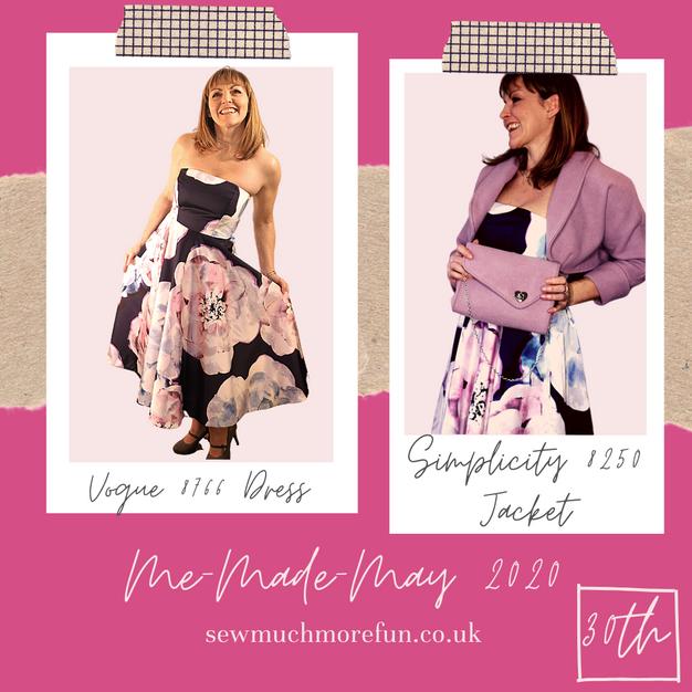 Vogue - 8766 Dress + Simplicity - 8250 Jacket
