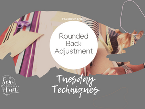 1.10 Rounded Back Pattern Adjustment