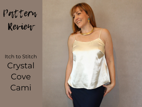 Itch to Stitch Crystal Cove Cami Review