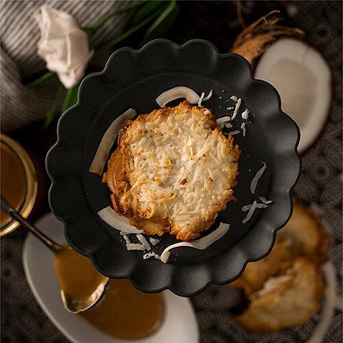 Coconut Macaroon Sandwich Cookies