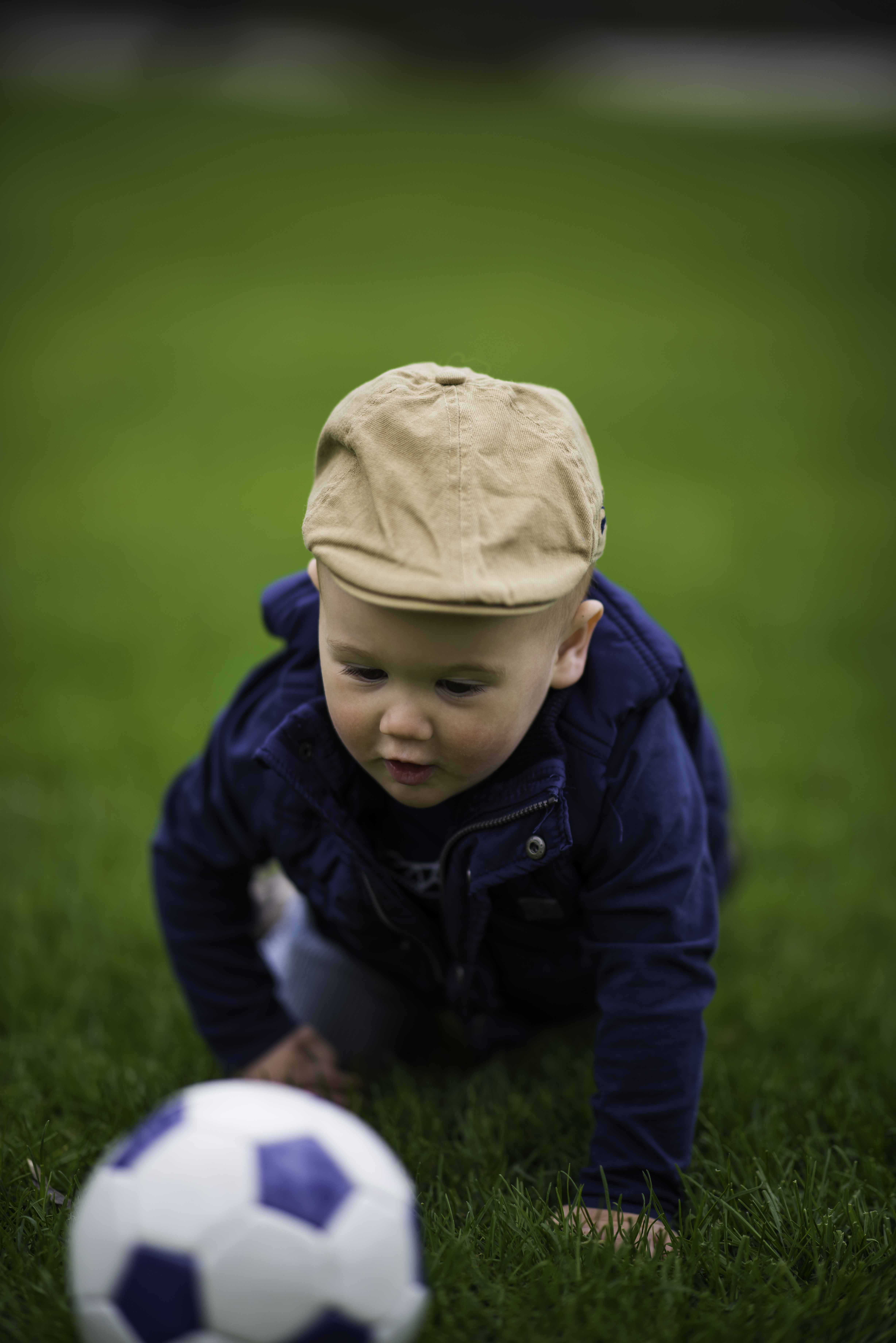 Playing with the Grass